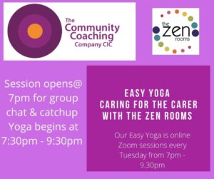 EASY YOGA CARING FOR THE CARER